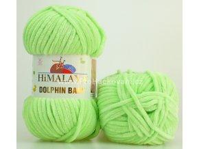 příze Dolphin Baby 80350 svěží zelená