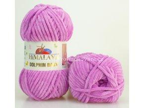 příze Dolphin Baby 80356 fialkově růžová