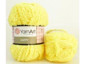 příze Happy 774 žlutá