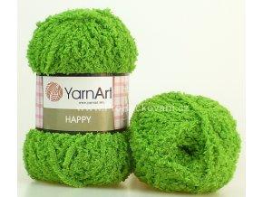 příze Happy 779 zelená
