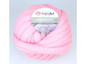 příze Marshmallow 907 světle růžová