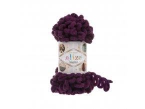 příze Puffy 111 maceškově fialová