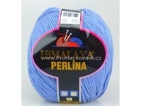 příze Perlina 50106 modrý melír