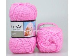 příze Baby 10119 růžová
