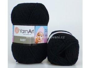 příze Baby 585 černá