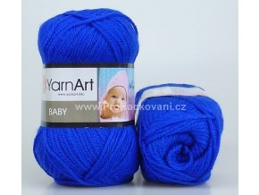 příze Baby 979 královská modrá