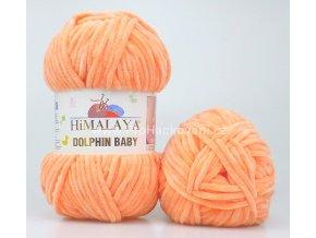 příze Dolphin Baby 80355 lososově oranžová