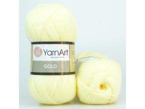 příze Gold 9383 smetanová vanilka