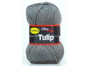 příze Tulip 4235 šedá