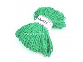 šňůry Cordy 5 mm zelené