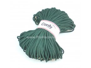 šňůry Cordy 5 mm lesní zelené