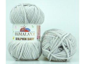 příze Dolphin Baby 80357 světlá šedobéžová
