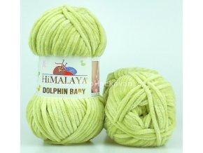 příze Dolphin Baby 80359 matná bledě zelená
