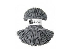 Bobbiny šňůry 5 mm ocelově šedé