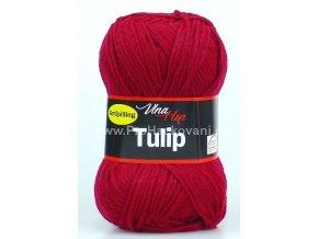příze Tulip 4010 tmavě červená