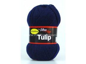 příze Tulip 4121 tmavě modrá