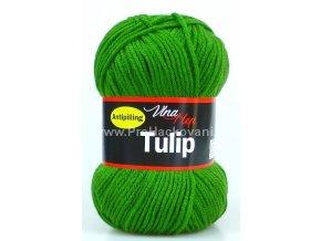 příze Tulip 4456 trávově zelená
