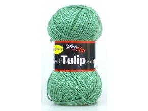 příze Tulip 4135 matná zelená