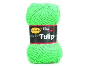 příze Tulip 4313 NEON zelená