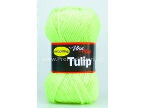 příze Tulip 4310 NEON žlutozelená