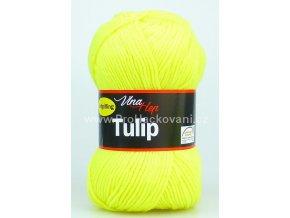 příze Tulip 4312 NEON žlutá
