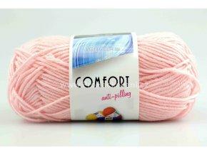 příze Comfort 52070 růžová
