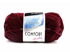 příze Comfort 52124 bordó