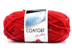 příze Comfort 52180 červená
