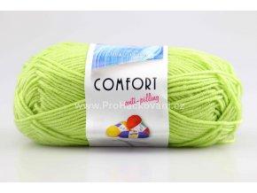 příze Comfort 53744 světle zelená