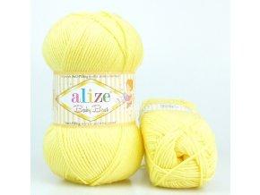 příze Baby Best 250 pastelově žlutá