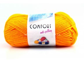 příze Comfort 54460 oranžová