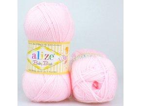 příze Baby Best 184 pastelově růžová
