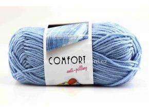 příze Comfort 56055 světle modrá
