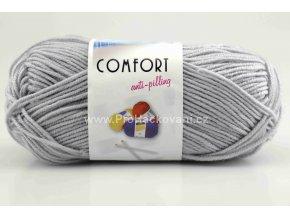 příze Comfort 56177 světle šedá