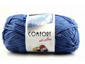 příze Comfort 56801 modrá