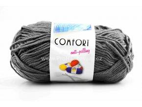 příze Comfort 58055 šedá