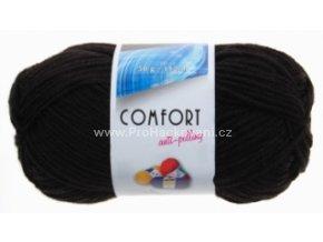 příze Comfort 59005 černá