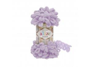 příze Puffy 27 lila
