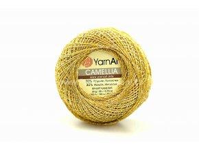příze Camellia 2440 starozlatá