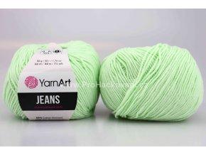 příze YarnArt Jeans 79 mentolová