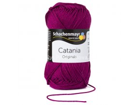 Příze Catania 128 fialová fuchsie