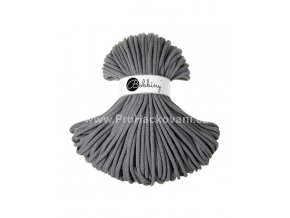 Bobbiny šňůry Jumbo ocelově šedé