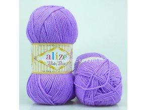 příze Baby Best 43 fialová lila