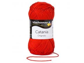 Příze Catania 115 červená
