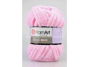 příze Dolce Maxi 750 světle růžová