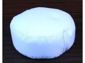 Vnitřní vak do pufu 50x20 cm bílý