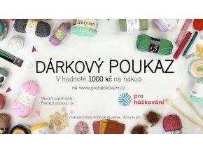 1000 Kč DÁRKOVÝ POUKAZ