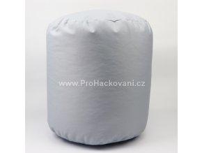 Vnitřní vak do pufu 38x40 cm světle šedý