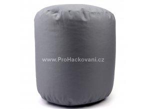 Vnitřní vak do pufu 38x40 cm tmavě šedý
