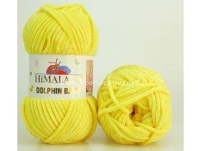 příze Dolphin Baby 80313 žlutá